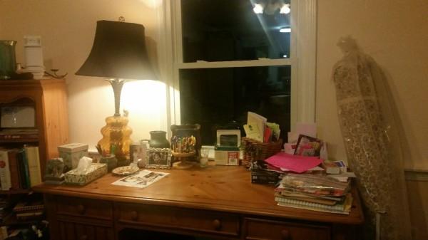 Day 8 Desk